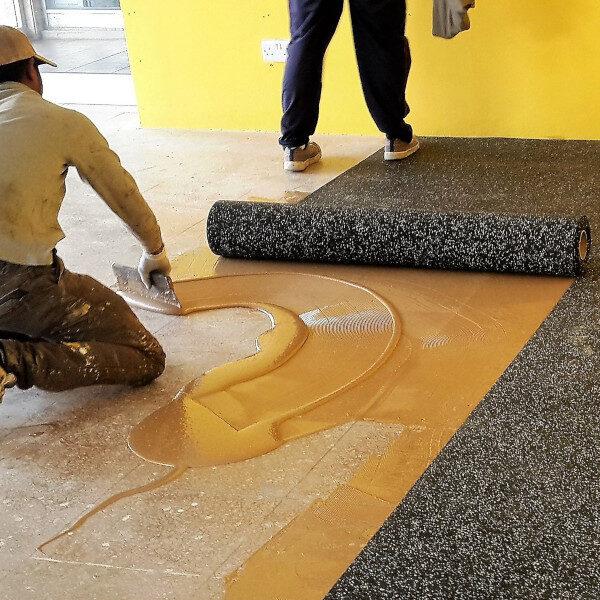 gym floor adhesives