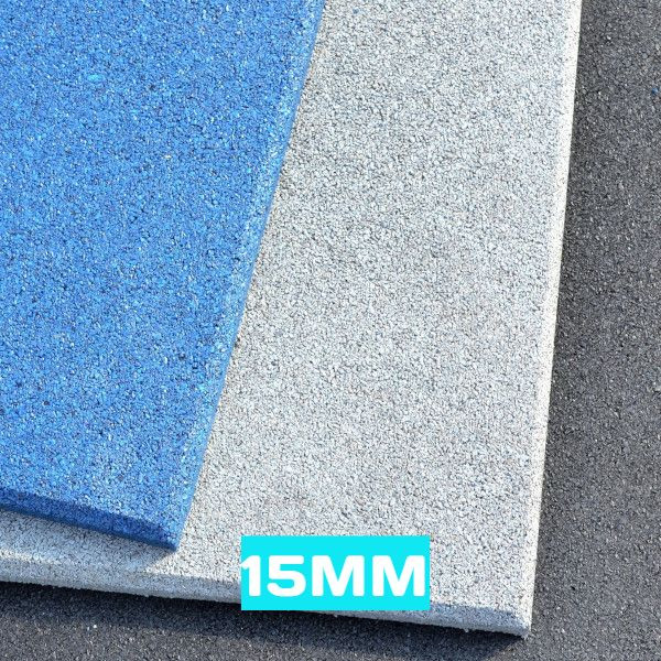 15mm flatline color gym tiles
