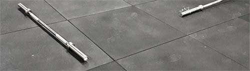 SYMMETRIC flatline 20mm gym flooring application