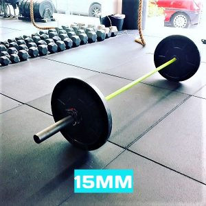 floor4gym flatline 15mm gym flooring